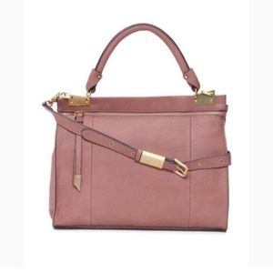 FOLEY + CORINNA Liberated Rose Dione Satchel
